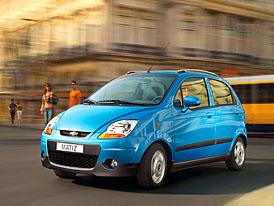 Vylepšený Chevrolet Spark: nová jiskra pro město