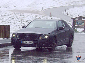 Spy Photos: Nov� Mercedes-Benz t��dy E na Grossglockneru