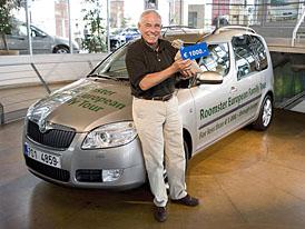 Škoda poslala Plattnera na dovolenou s Roomsterem za 1.000 € po 35 státech
