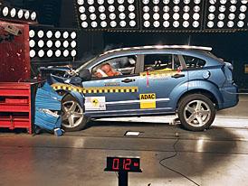 Euro NCAP: Dodge Caliber získal čtyři hvězdy