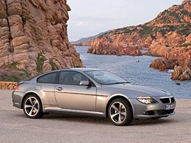 BMW řady 6: nová technika, designérské retuše a první diesel pro velké kupé