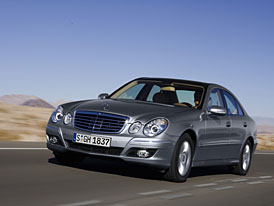 Mercedes-Benz: E 230 = nový šestiválec pro třídu E