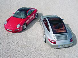 Porsche 911 Targa 4 z�skalo presti�n� Red Dot Awards
