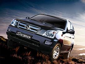 Shuanghuan Ceo: Terénní auto z Číny v říjnu na český trh