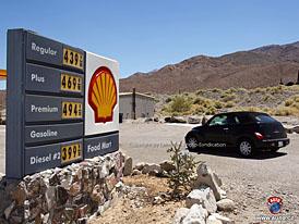 Spy Photos: ceny benzinu v Death Valley se přiblížily Evropě