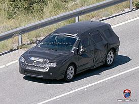 Spy Photos: Nový Citroën C5 Break zatím zůstává zahalen