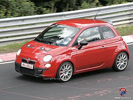 Spy Photos: Fiat Grande Punto Abarth bude sekundovat Fiatu 500 Abarth