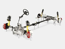 Mitsubishi Lancer Evolution: Dvě spojky (jako v DSG) a supervize pohonu všech kol