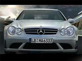 Video: Mercedes-Benz CLK 63 AMG Black Series na okruhu
