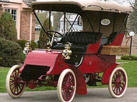 Cadillac Model A Runabout z roku 1903 jde do dražby