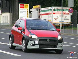 Spy Photos: Fiat Grande Punto Abarth - odhalit, zahalit, odhalit