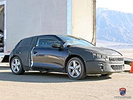 Spy Photos: Nový Volkswagen Scirocco následuje studii Iroc (další fotografie)