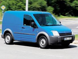 Ford Transit Connect 1,8 TDDi - Modrý límeček