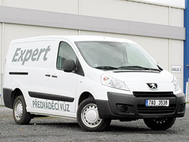 Test: Peugeot Expert 1.6 HDI - Potvrzené ambice