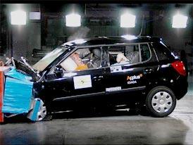 Škoda Auto o crash-testu Fabie: Výsledky testu zklamáním nejsou