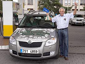 Roomster 1.4 TDI (59 kW) projel Evropou se spotřebou 4,5 l/100 km