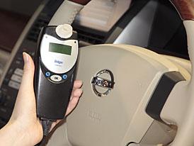 Nissan testuje palubní analyzátory dechu