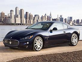 Maserati Granturismo: nov� fotografie (p�ev�n�) z Alp