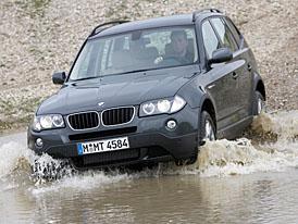 BMW X3 2008 s novým dieselovým dvoulitrem
