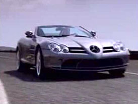 Video: Mercedes-Benz SLR McLaren Roadster na projížďce