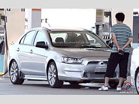 Spy Photos: Sportovní Mitsubishi Lancer. Bude to další Evo?