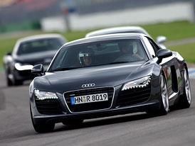 Audi Sportscar Experience: Jak jezdí Audi R8, S5 a S8 na okruhu?