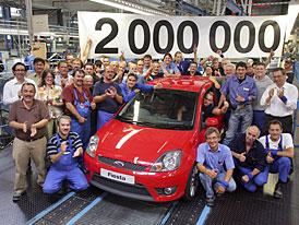 Ford: 2 miliony Fiest a Fusionů z Kolína