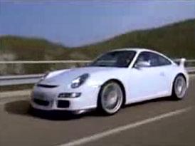 Video: Porsche 911 GT3 a Walter Röhrl v Římě a na okruhu
