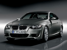 BMW 3 Coupé dostane M paket, který jej opticky přiblíží modelu M3