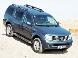 Nissan Pathfinder -Rozmazl� snadno a rychle
