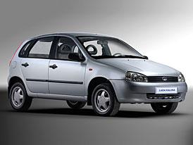 Lada Kalina hatchback na �esk�m trhu za 239.900,-K�