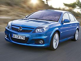 Opel pravd�podobn� ve Frankfurtu novou Vectru nep�edstav�