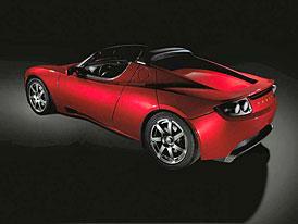 Tesla Roadster: Nezávislost na ropě se odsouvá na listopad