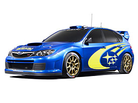 Subaru Impreza WRC Concept – první fotografie zveřejněny