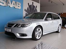Saab 9-3 1.8i (90 kW) do konce května za 539.000,-Kč, 1,9 TTIDS (132 kW) za 711.000,-Kč