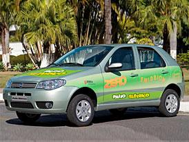 Fiat Palio Elétrico – 100 procentní elektromobil z Brazílie