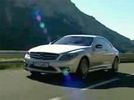 Video: Mercedes-Benz CL 65 AMG v pohybu i staticky