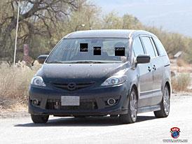 Spy Photos: První snímky americké Mazdy5 po faceliftu