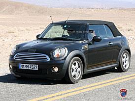 Spy Photos: Nové Mini Cooper Cabrio (další foto zblízka)