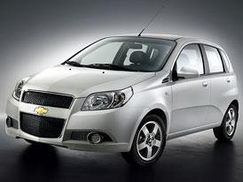 Chevrolet Aveo se představí na autosalonu ve Frankfurtu