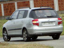 Nová Škoda Fabia Combi: Další fotografie