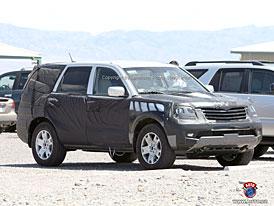 Spy Photos: Kia Mesa - velké SUV z Koreje pro USA (další fotografie)