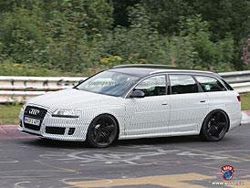 Spy Photos: Audi RS6 Avant na Nürburgringu