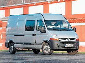 Renault Master 120 dCi Furgon – S dlouhým krokem