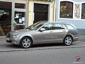 Spy Photos: Kombi Mercedes-Benz třídy C zblízka (premiéra za dveřmi)