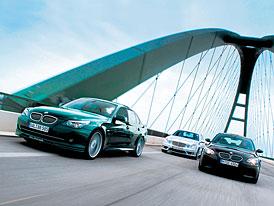 Srovn�vac� test: Alpina B5 vs. BMW M5 vs. Mercedes-Benz E 63 AMG