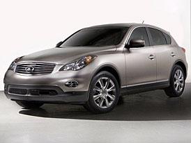 Infiniti EX35: z konceptu SUV je nová pětatřicítka