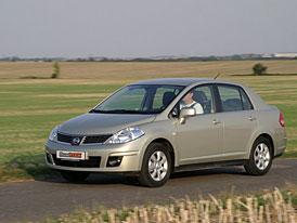 Nissan Tiida nakonec tak� pro z�padoevropsk� trhy
