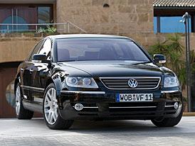 Volkswagen Phaeton V6 TDI nyní silnější a úspornější