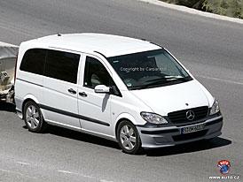 Spy Photos: Kosmetick� z�sahy na vanu Mercedes-Benz Viano